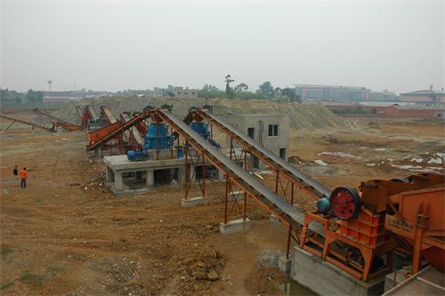 四川时产400吨鹅卵石制砂生产线
